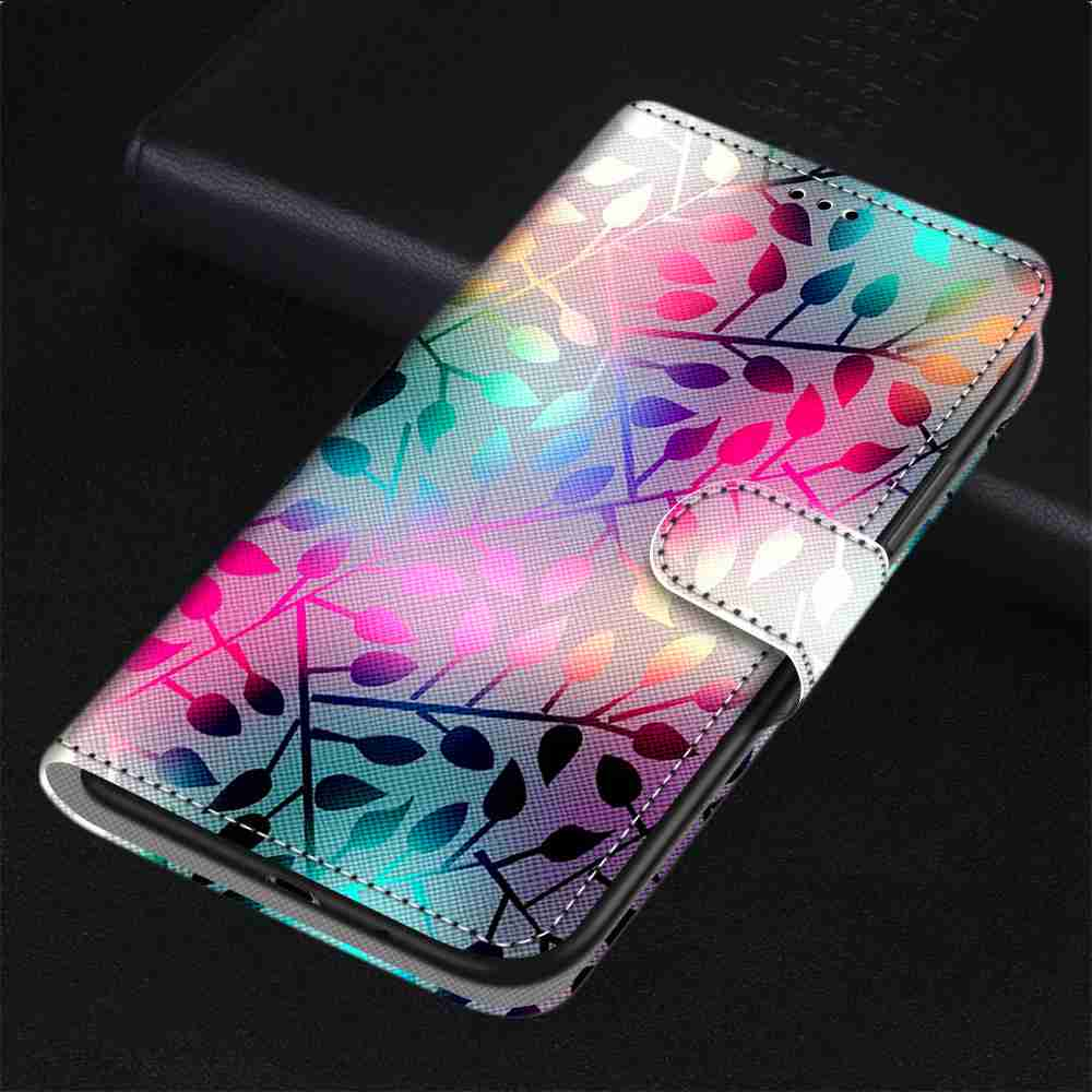 Flat  Painted Phone Case forSamsung Galaxy A51 - Multi-D