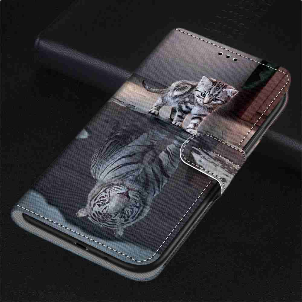 Flat  Painted Phone Case for Xiaomi Redmi K30 4G / Redmi K30 5G - Multi-T