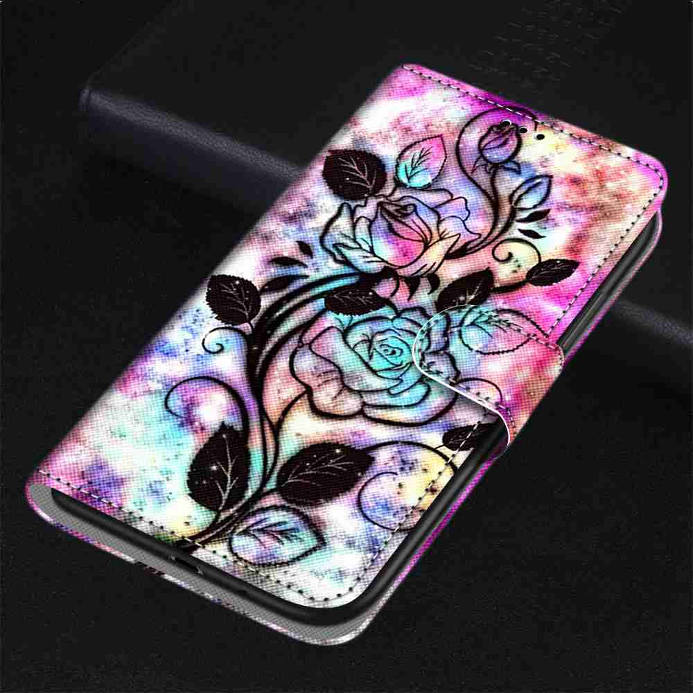Flat  Painted Phone Case for Xiaomi Redmi Note 8T - Multi-L