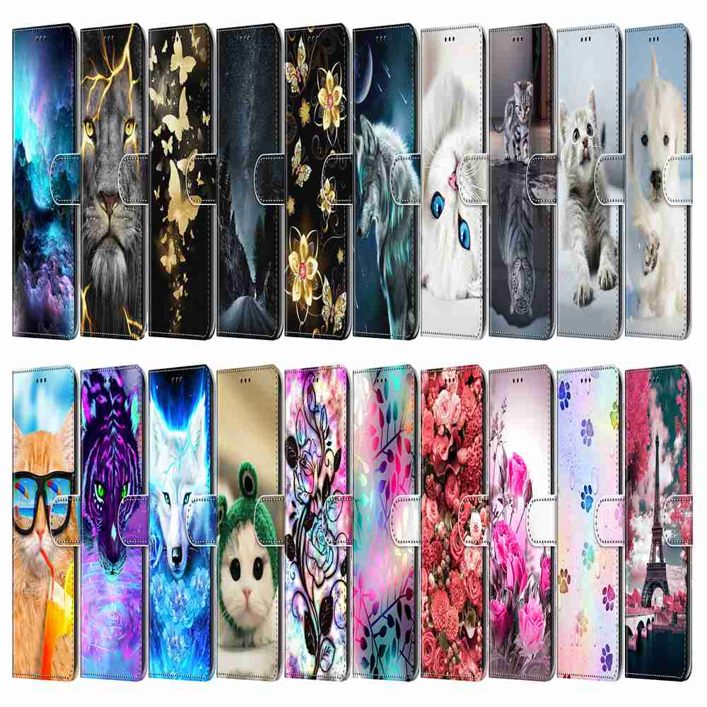 Flat Painted Phone Case for Huawei P40 - Multi-R