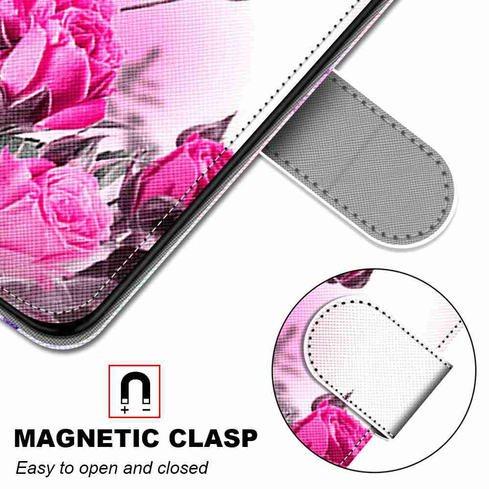 Flat Painted Phone Case for Huawei P40 Lite E / Y7P / 9C - Multi-A