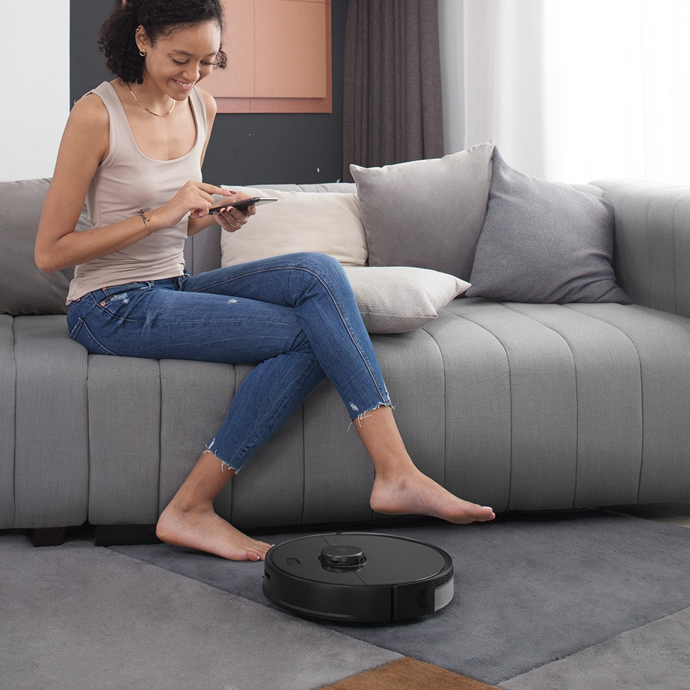 Roborock S5 Max Laser Navigation Robot Vacuum Cleaner-black specialize in outside