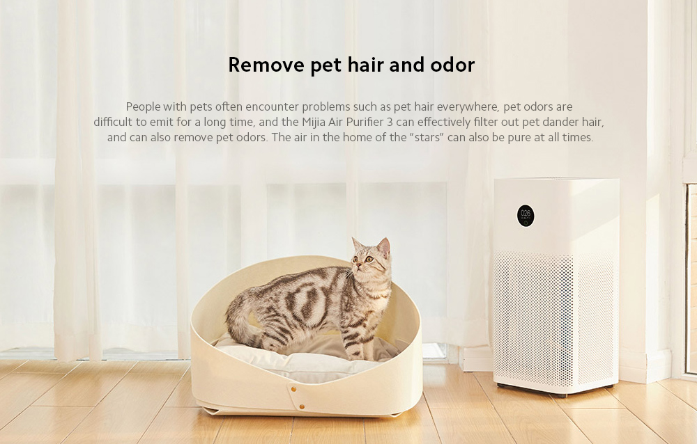 Xiaomi Mijia AC-M6-SC Air Purifier 3 Remove pet hair and odor