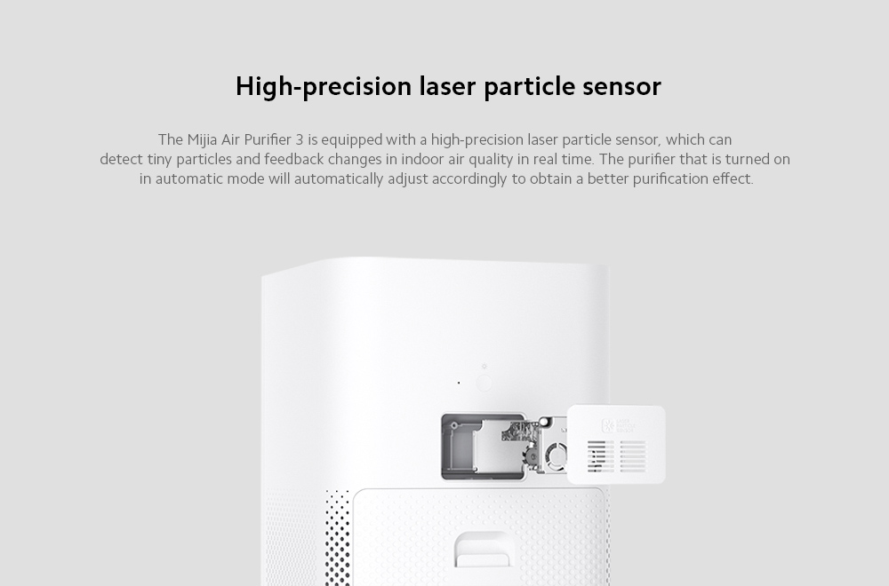 Xiaomi Mijia AC-M6-SC Air Purifier 3 High-precision laser particle sensor