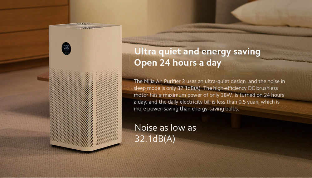 Xiaomi Mijia AC-M6-SC Air Purifier 3 Ultra quiet and energy saving