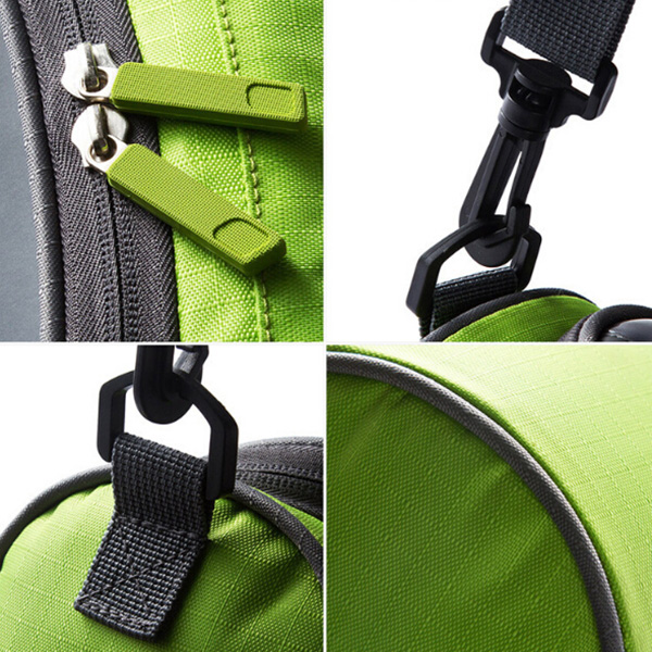 Bicycle Handlebar Bag Front Pack Touch Screen Mobile Phone Package Mountain Bike Riding Bicycle Accessories Package - Cadetblue