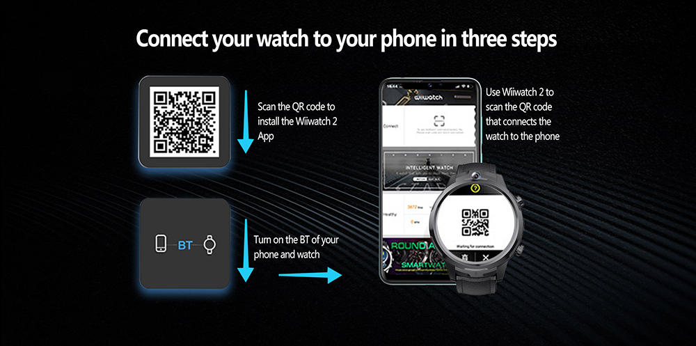 ALLCALL GT2 Watch Phone Download APP