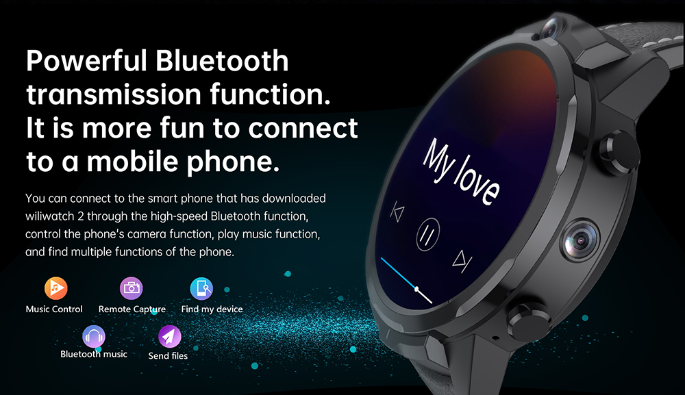 ALLCALL GT2 Watch Phone Bluetooth