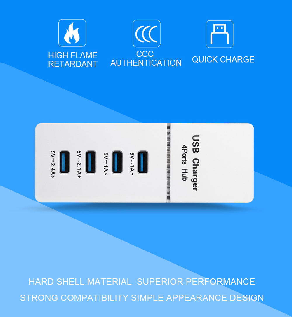 USB Charger - White