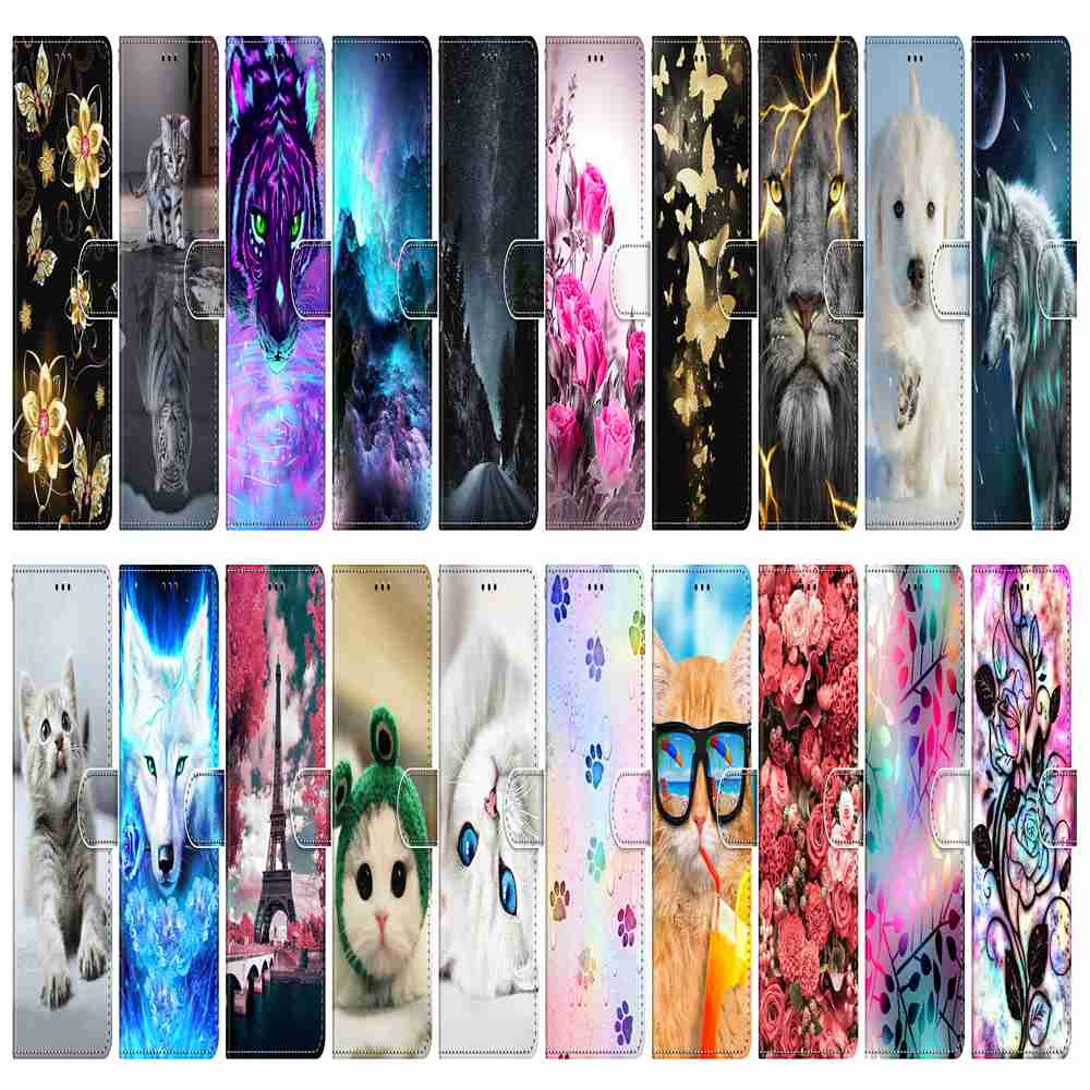 Flat Painted Phone Case for Huawei Nova7 Pro - Multi-H