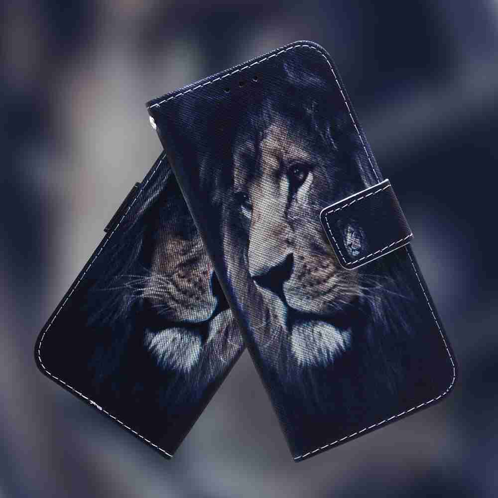 Multi-Pattern Painted Phone Case for iPhone 12   5.4 Inch - Multi-G