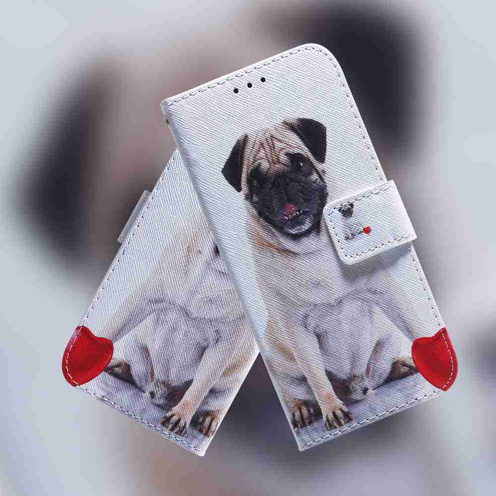 Multi-Pattern Painted Phone Case for iPhone 12   5.4 Inch - Multi-A