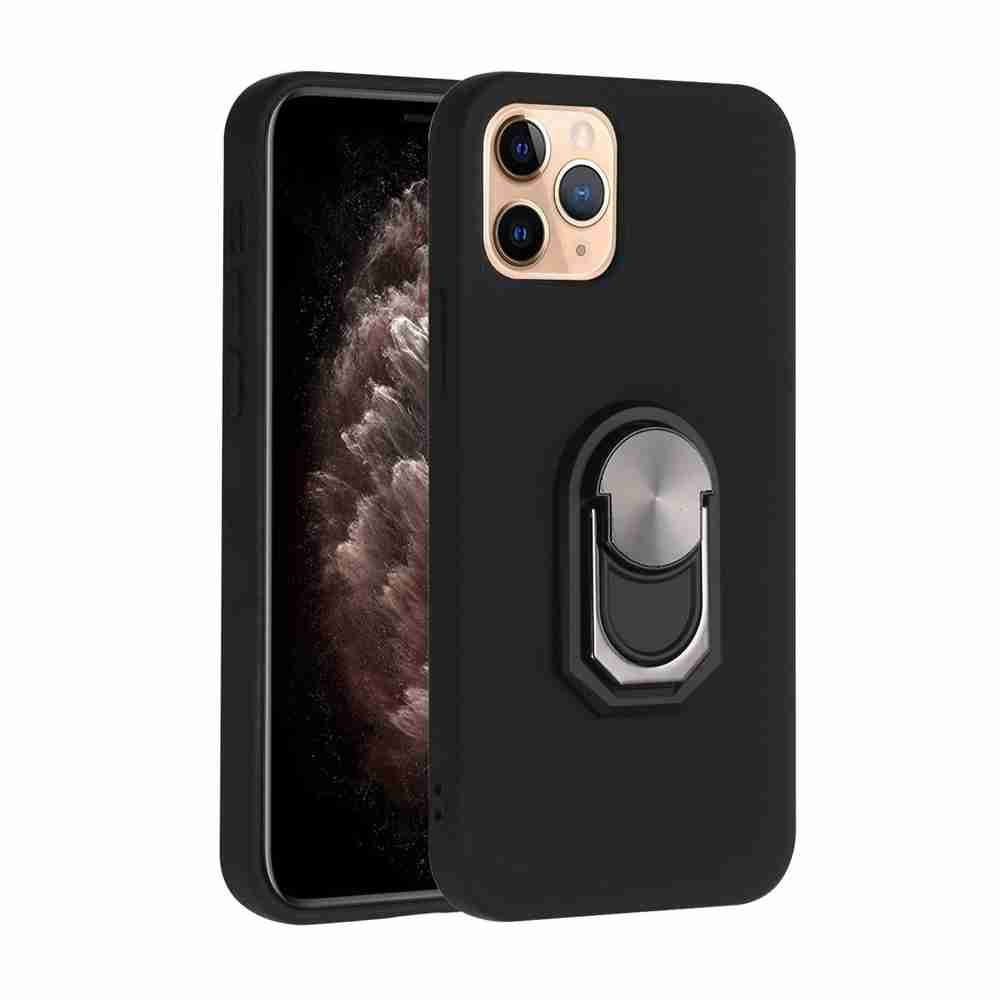 TPU Super Thick Armor Bracket Phone Case for iPhone 12 6.1  Inch - Multi-C