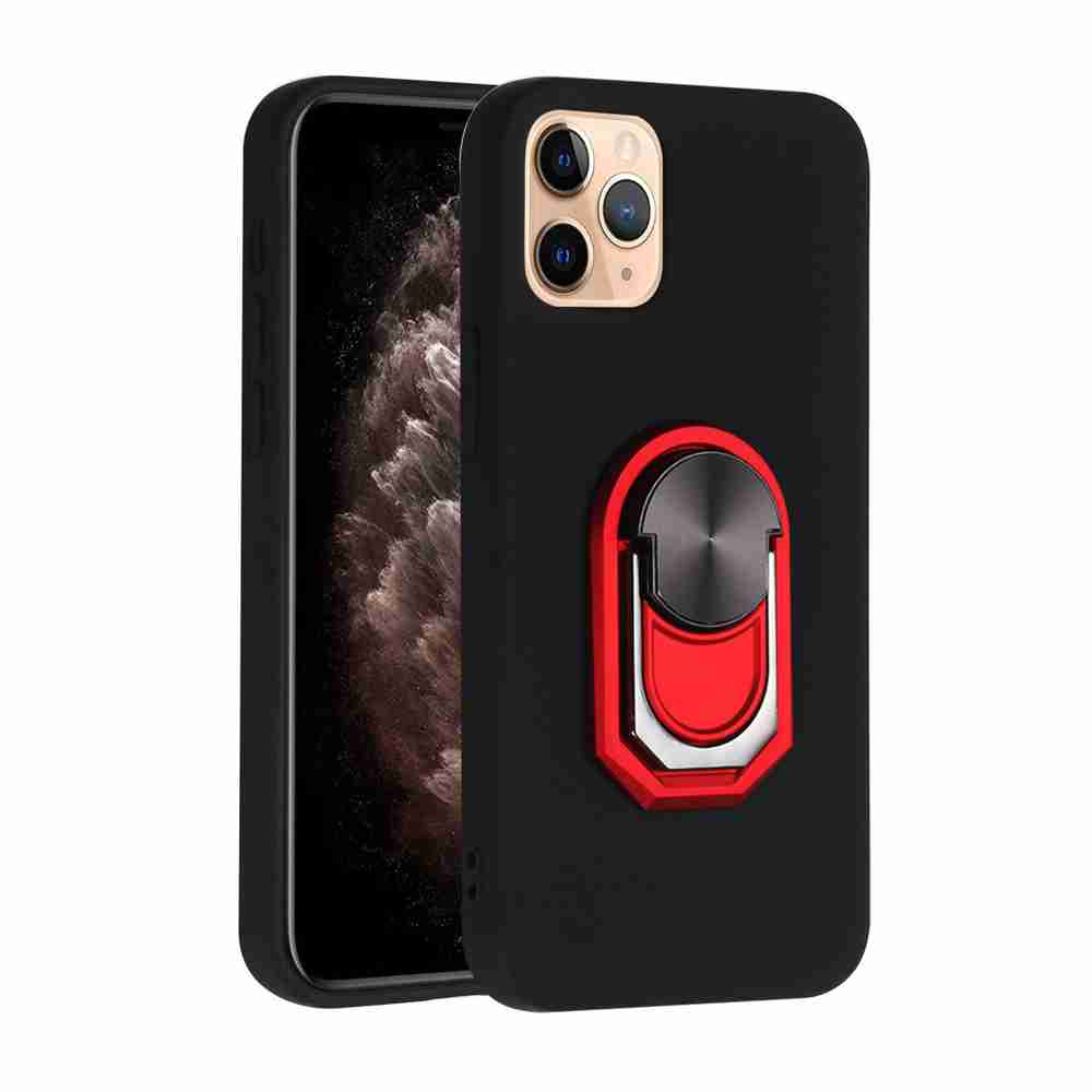 TPU Super Thick Armor Bracket Phone Case for iPhone 12  5.4 Inch - Multi-C