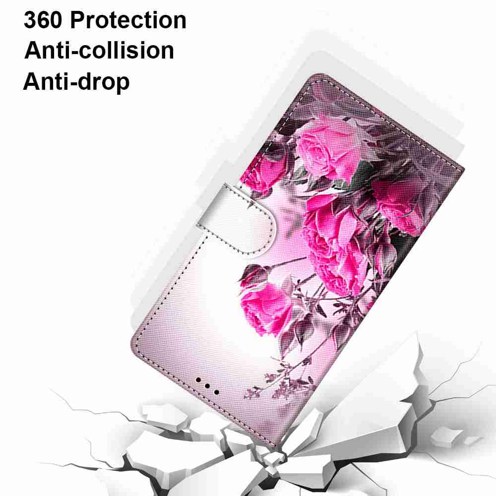 Flat Painted Phone Case for iPhone 12 Pro Max - Multi-H