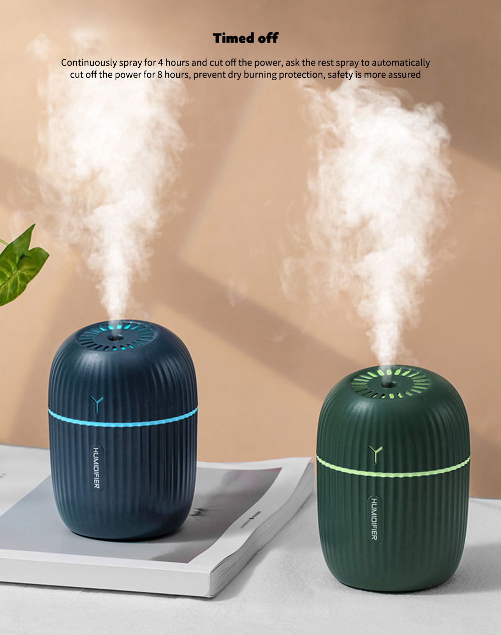 Q8-001 USB Humidifier Timed off