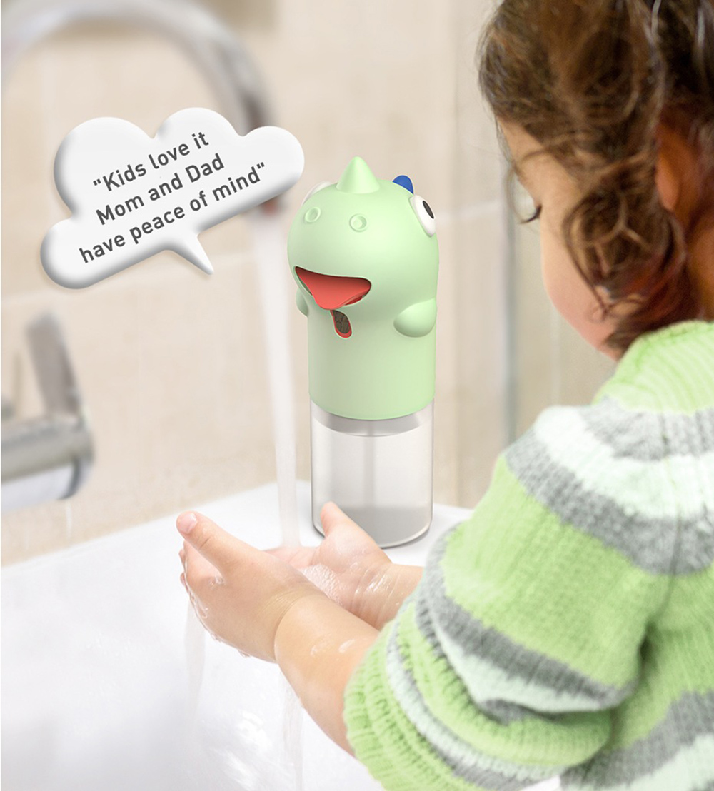Dinosaur Shape Smart Hand Washer - Pink