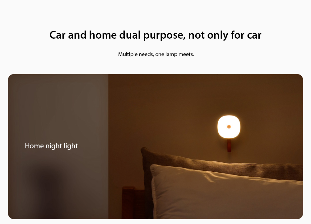 Baseus Solar USB Dual Charging Car Reading Light Car and home dual purpose, not only for car