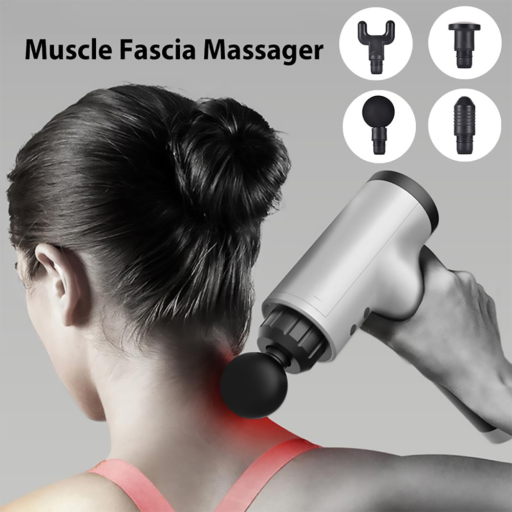 Muscle Relaxation Massager - Black EU Plug