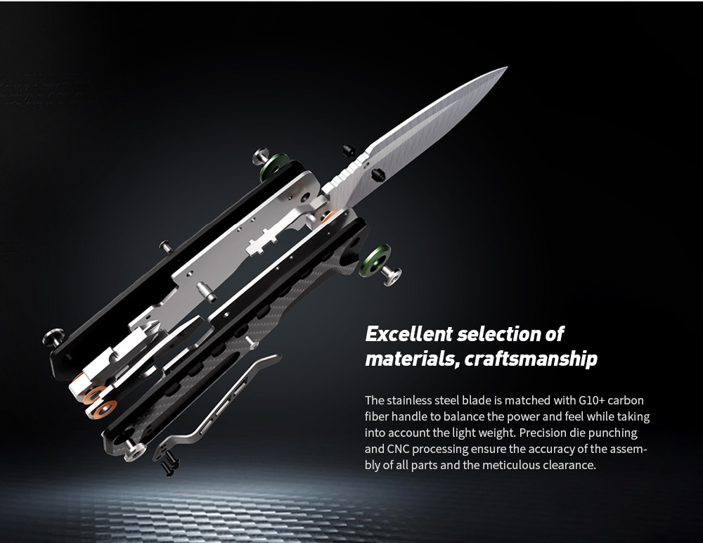 NEXTOOL Multi-function Folding Knife Excellent selection of materials, craftsmanship