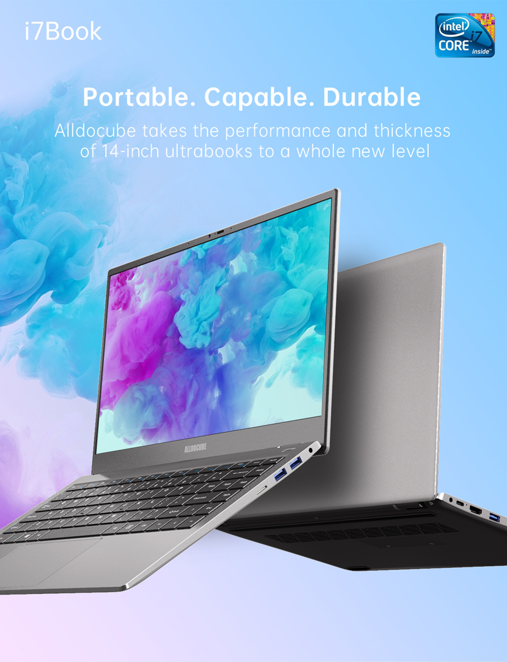ALLDOCUBE i7Book 14.1 inch Notebook - Platinum