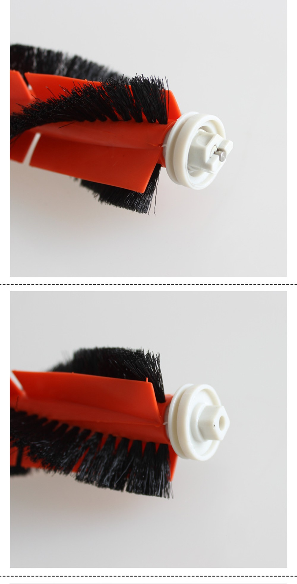 1406 Sweeper Accessories Set Side Rolling Brush Filter Side Brush Cleaning Tool  for Mijia 1S Stone S52 / S51 / S50 - Multi