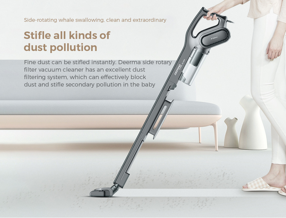 Deerma DEM-DX700S Vacuum Cleaner Side-rotating whale swallowing, clean and extraordinary