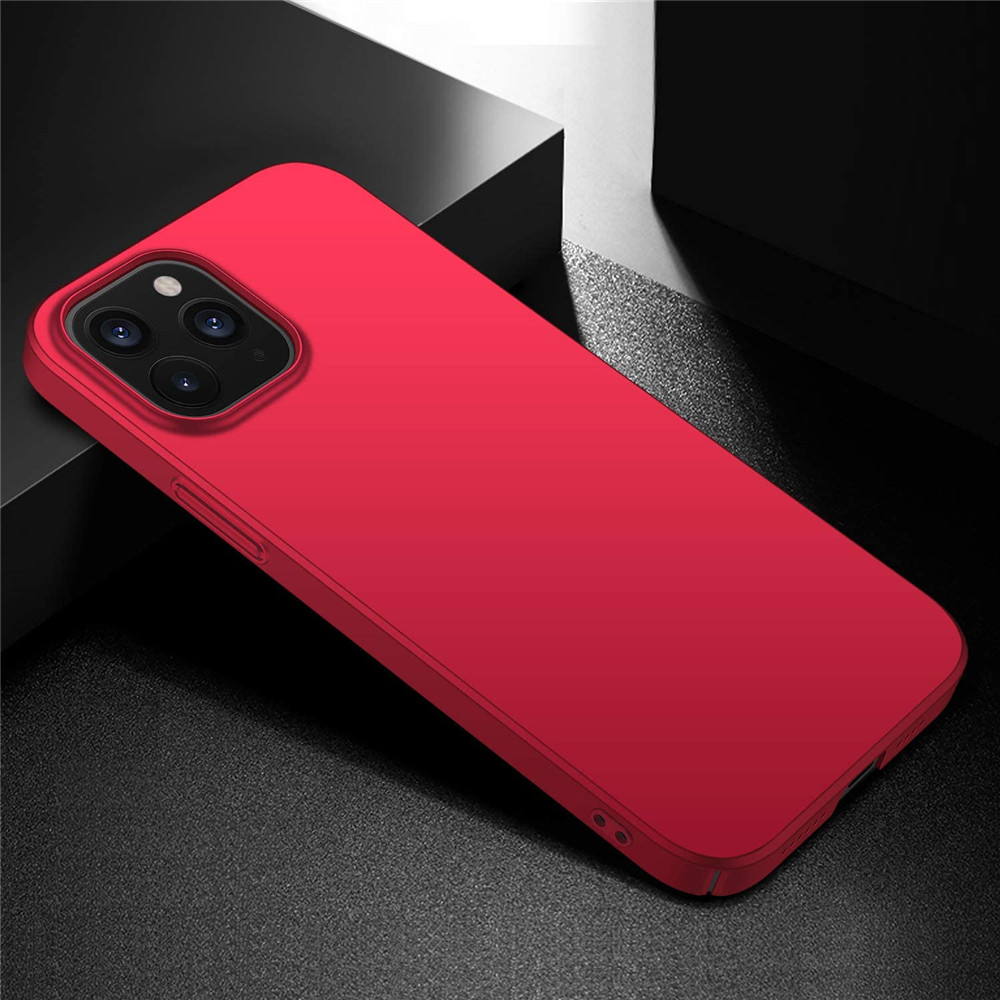 Hard Protective Phone Case for iPhone 12Mini 12  12Pro 12Pro Max - Red 12 Pro Max