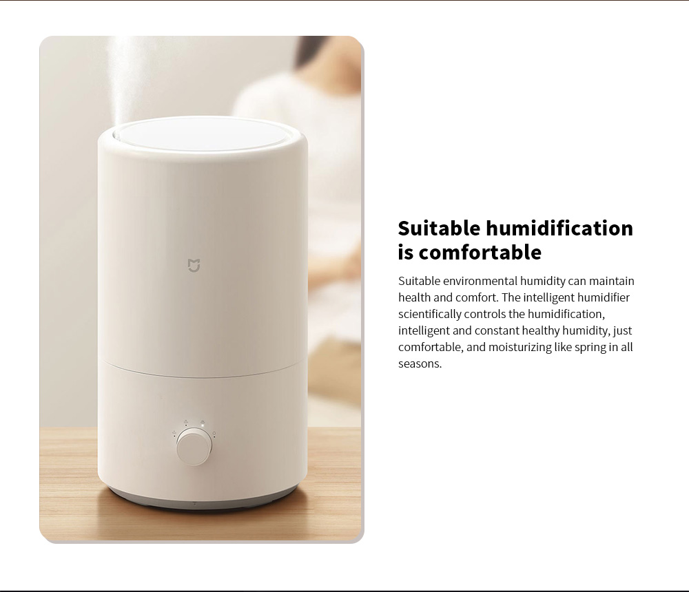 Xiaomi MJJSQ04DY Smart Humidifier Suitable humidification is comfortable