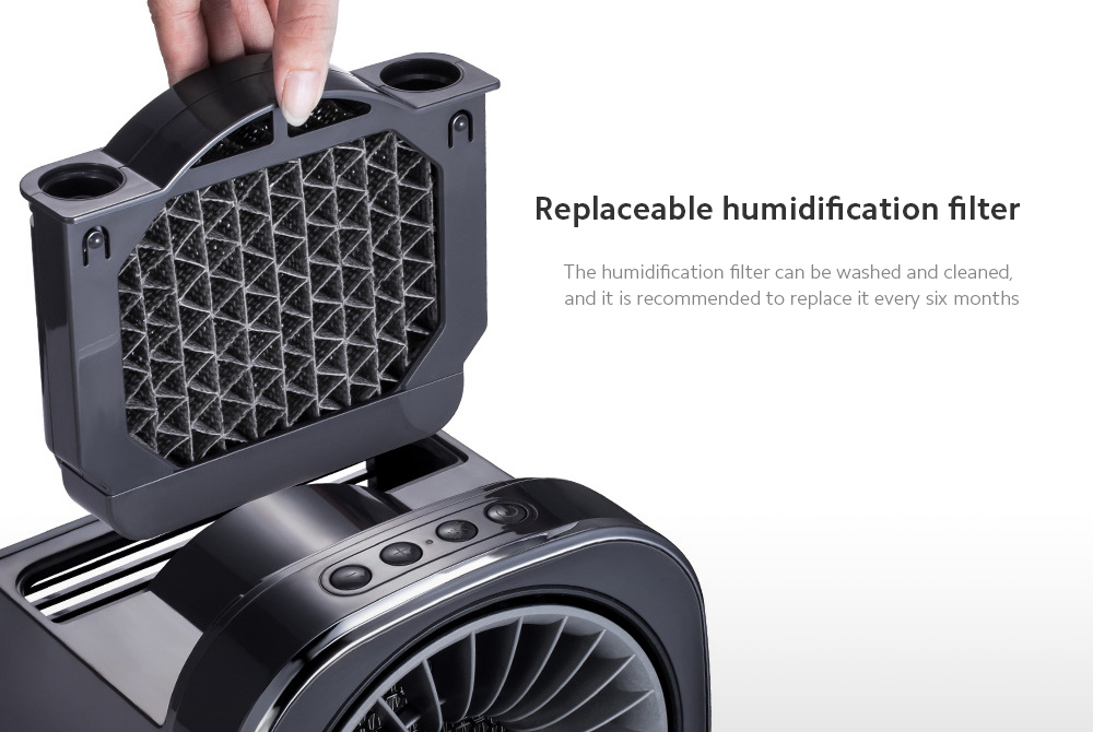 MR2020 Electric Desktop Heater Replaceable humidification filter