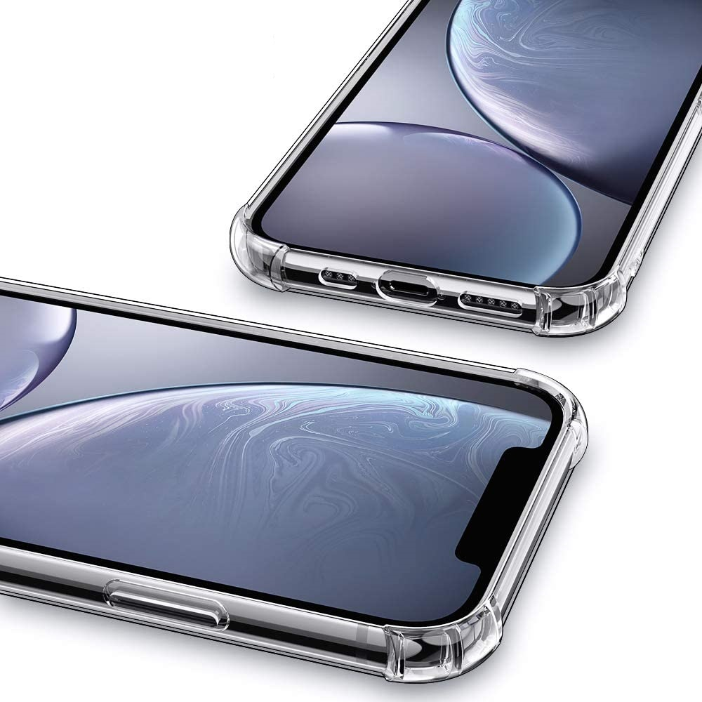 TPU Soft Shockproof Phone Case For IPhone 12 / IPhone 12Pro 6.1 - Transparent