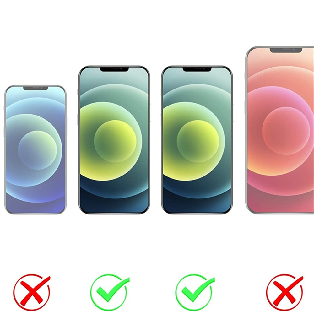 TPU Soft Shockproof Phone Case For iPhone 12 Mini 5.4 Inch 2pcs - Transparent