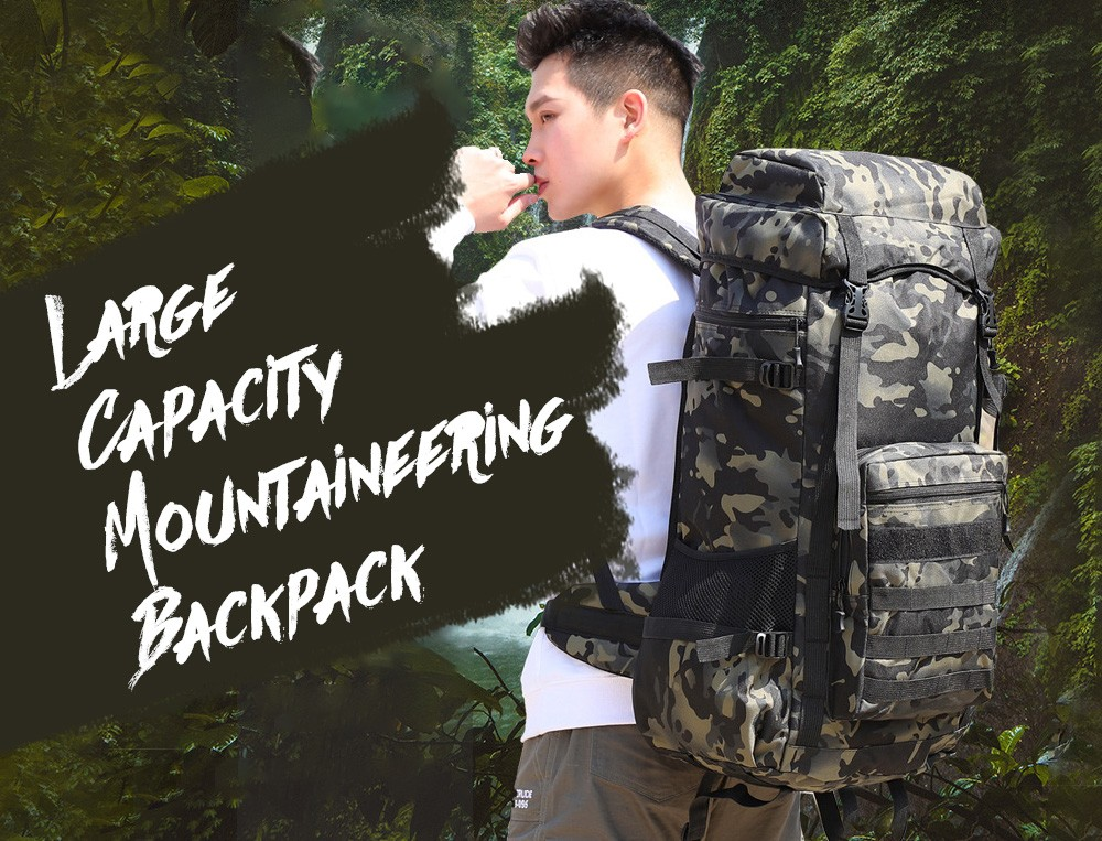 Large-capacity Outdoor Backpack
