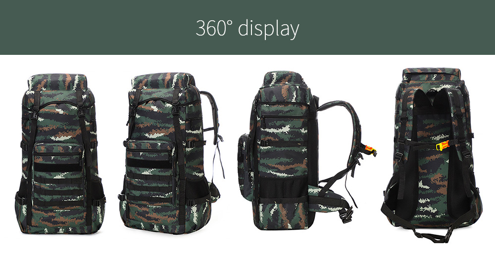 Large-capacity Outdoor Backpack display