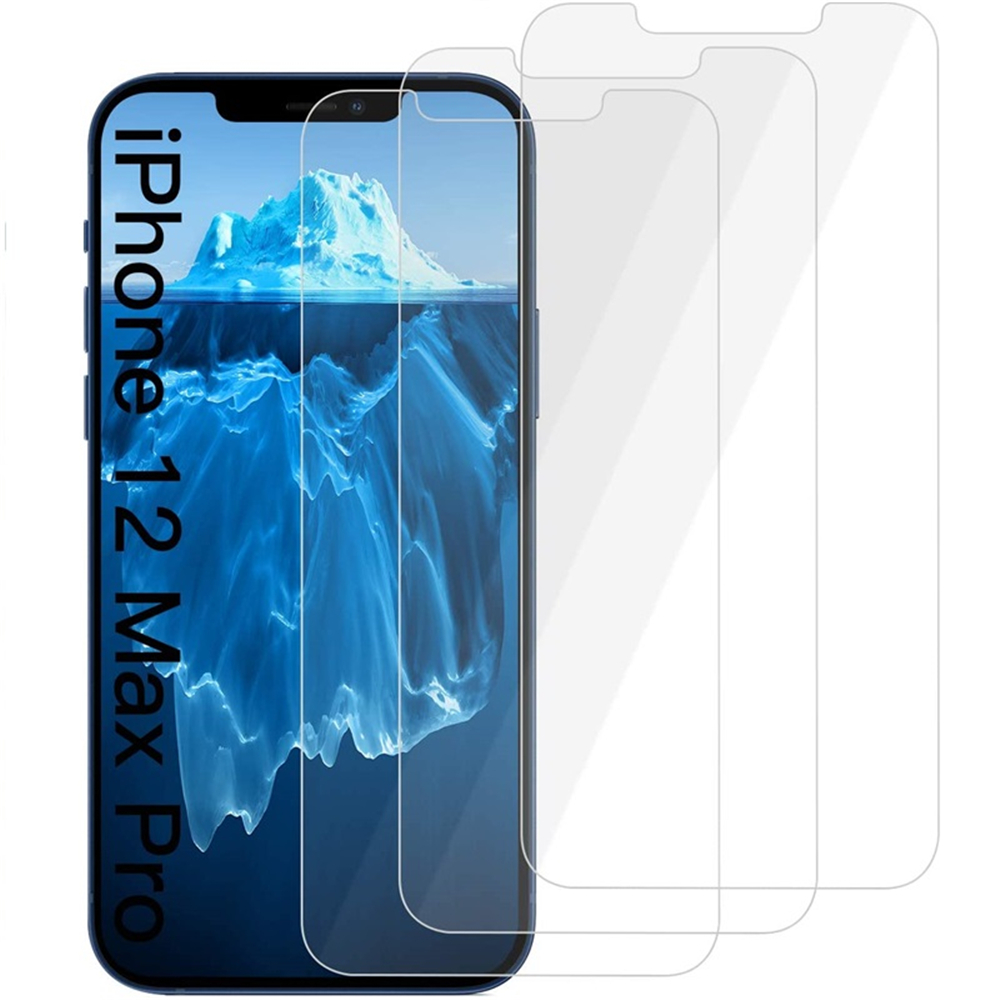 Tempered Glass Screen Protecto For iPhone 12 Pro Max 6.7 Inch 3pcs Sale,  Price & Reviews