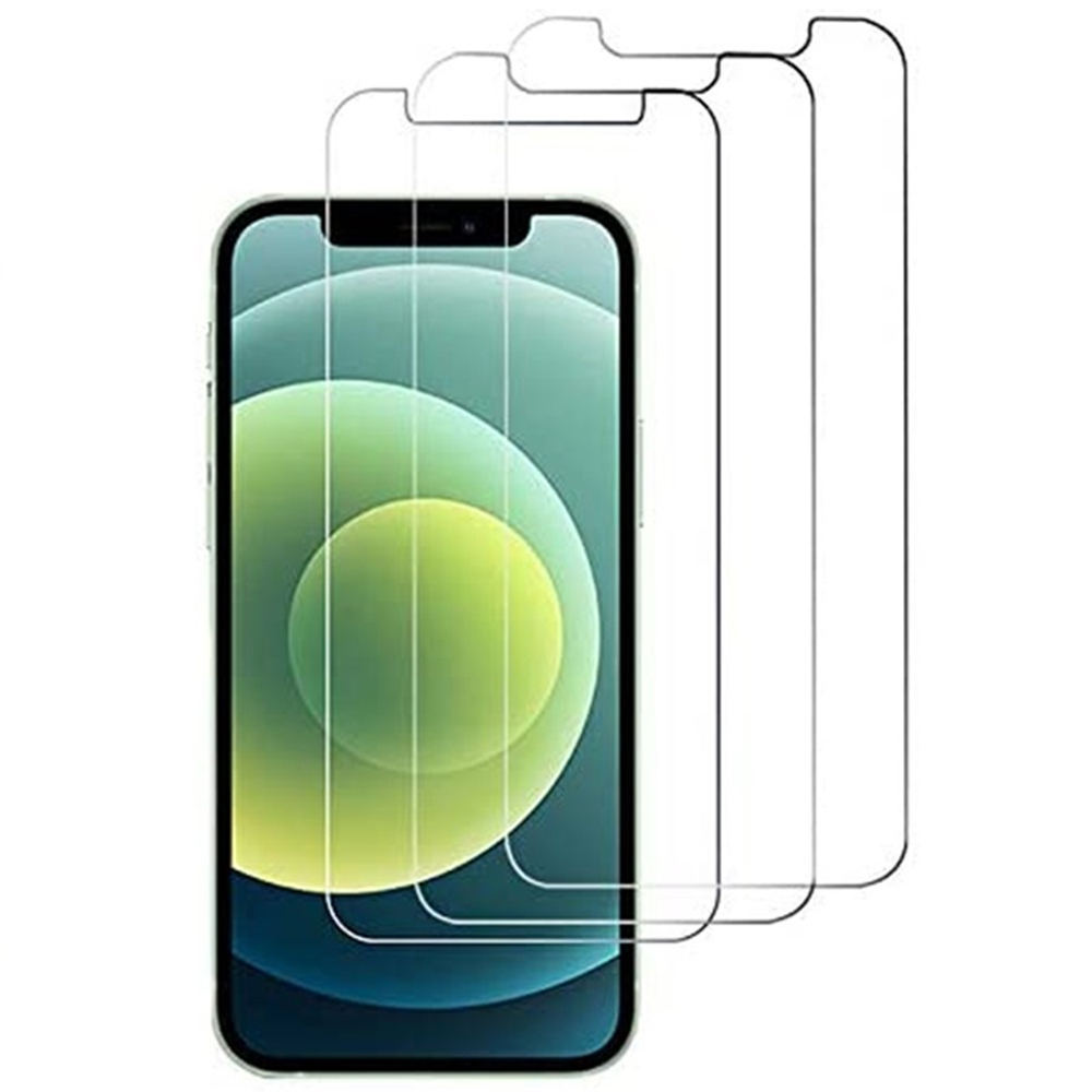 Tempered Glass Screen Protector For iPhone 12 Mini 5.4 Inch 3pcs - Black