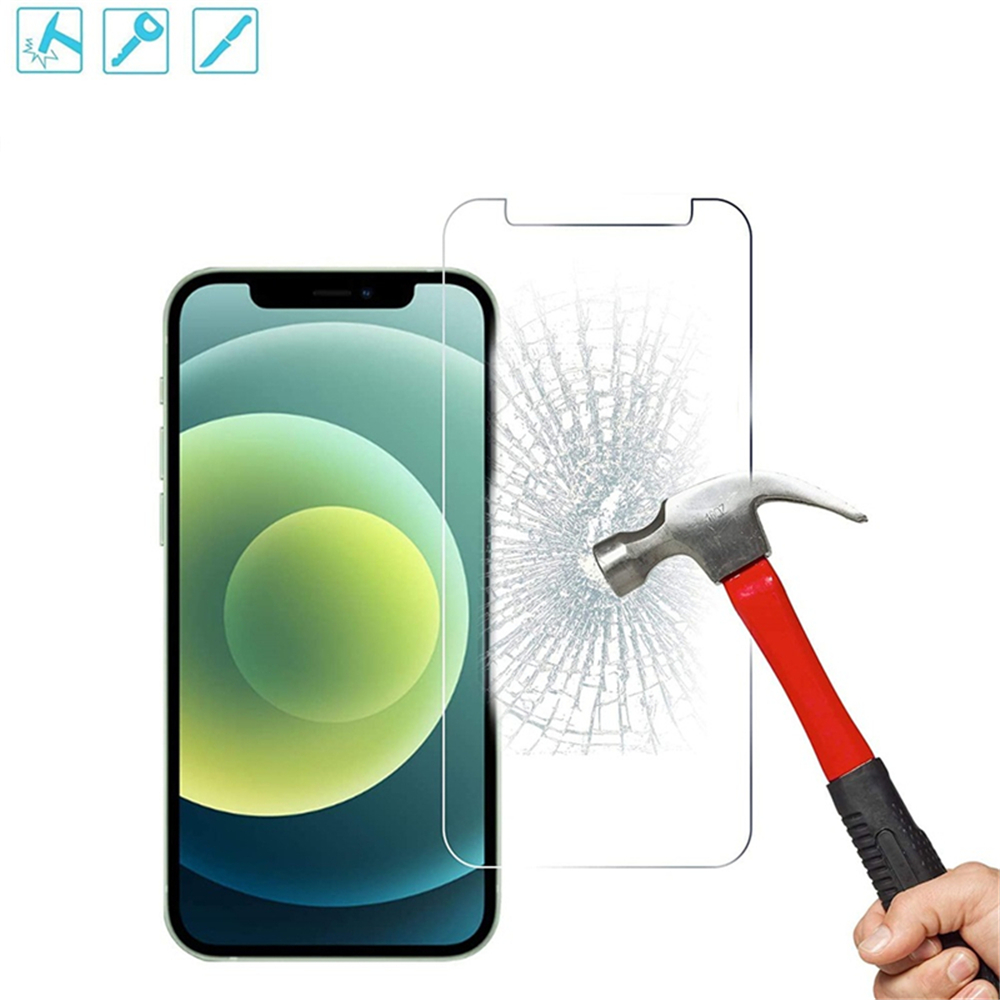 Tempered Glass Screen Protector For iPhone 12 /iPhone 12 Pro 6.1 Inch - Transparent