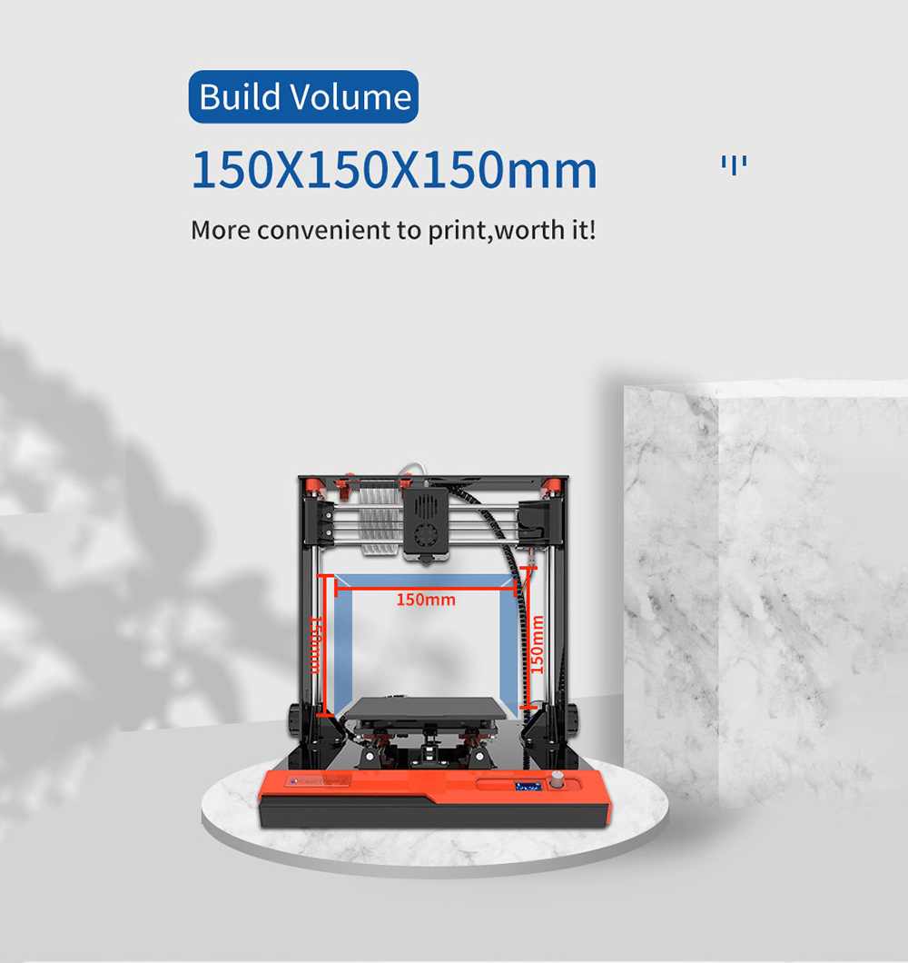Easythreed K4 Mini 3D Printer - Multi EU Plug