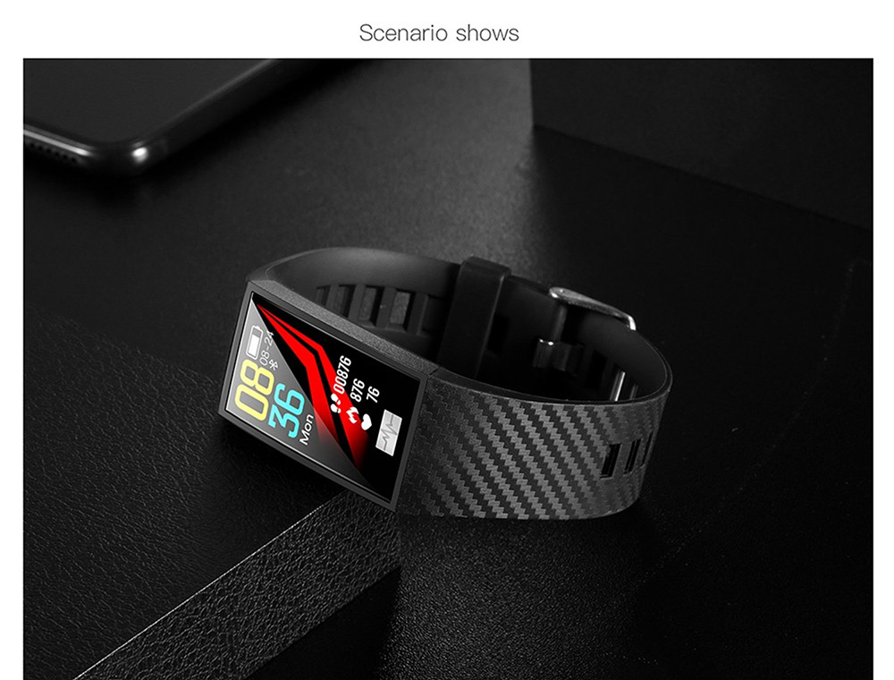 DT58 Smart Bracelet - Cadetblue