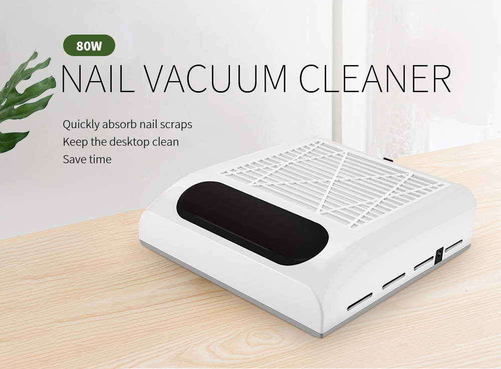 80W High Power Nail Vacuum Cleaner