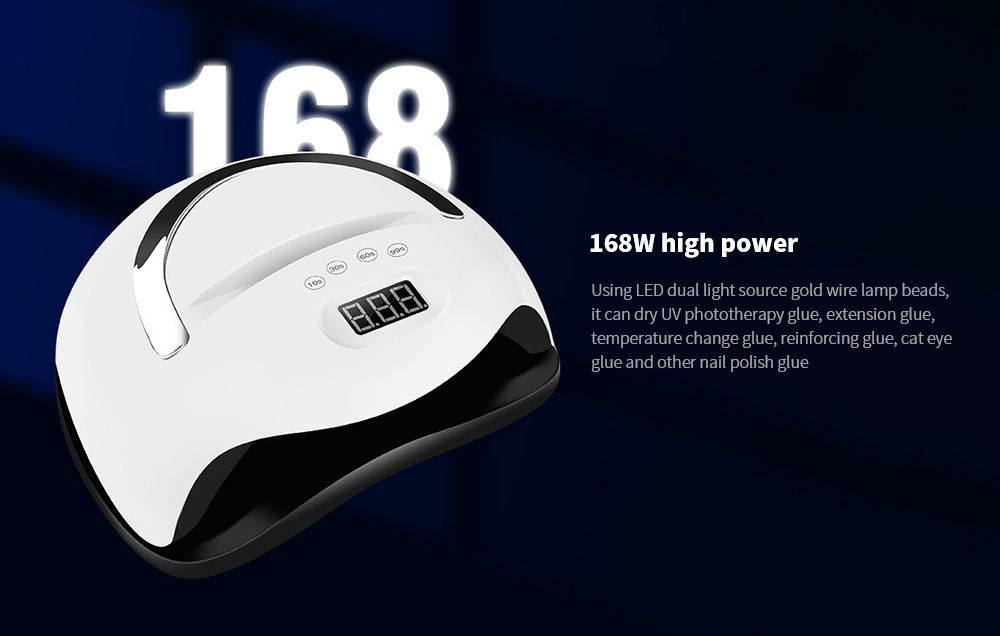 168W UV Portable Nail Dryer 168W high power