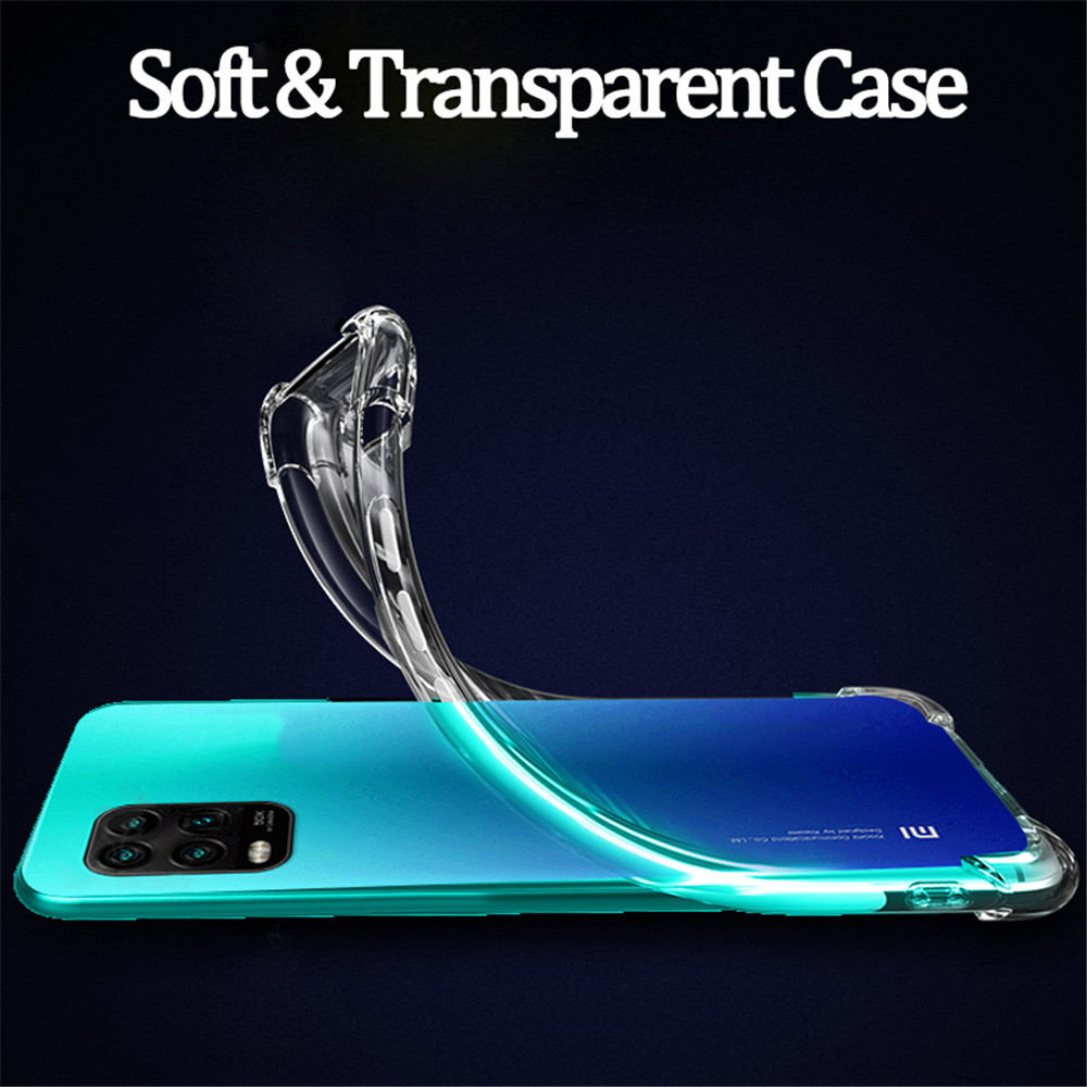 Transparent TPU Phone Case for Xiaomi Mi 10T / 10T Pro - Transparent
