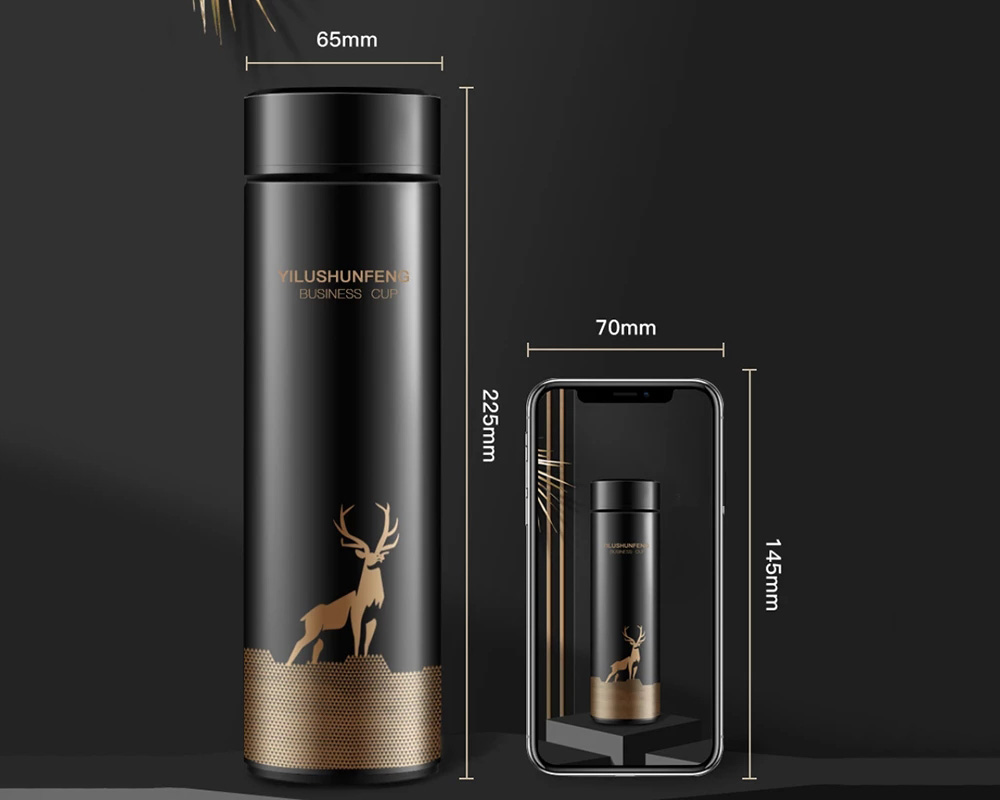 Vacuum Thermos Cup Size