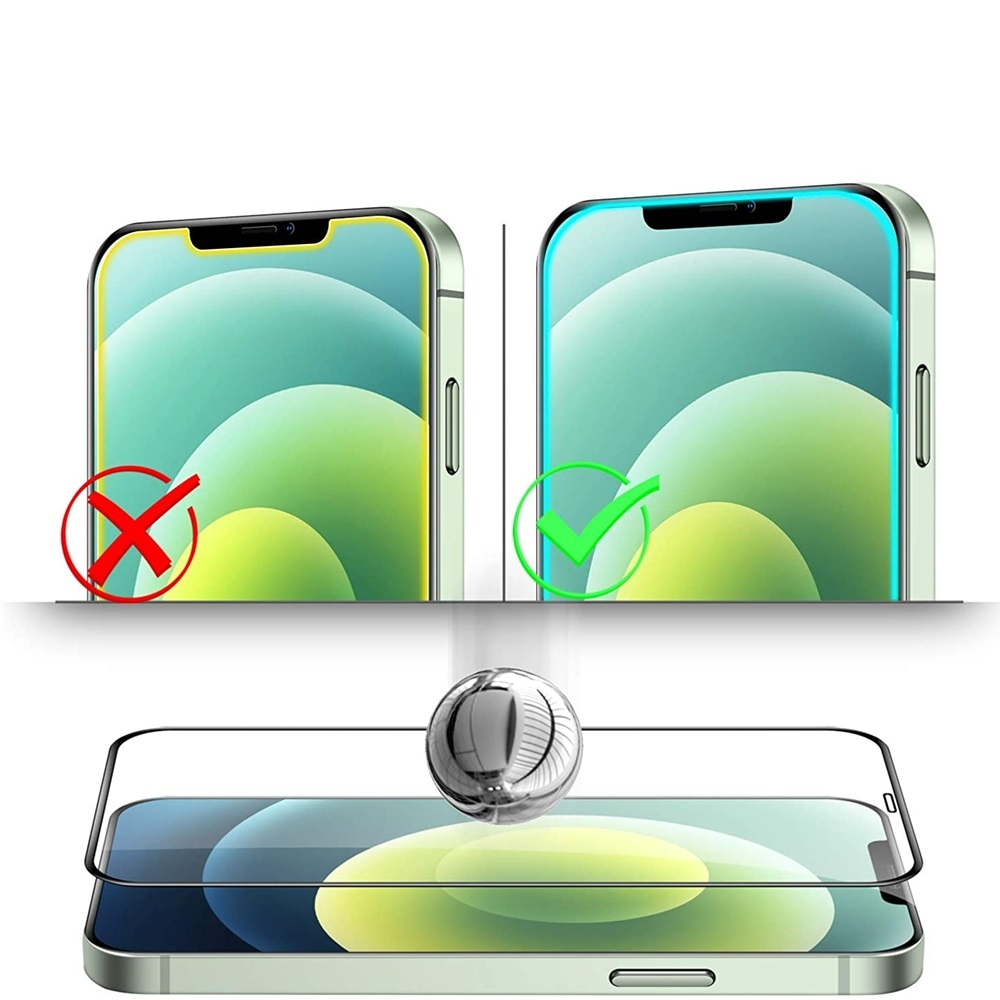 Tempered Glass Screen Protector For iPhone 12 /12 Pro 6.1 Inch 2pcs - Transparent