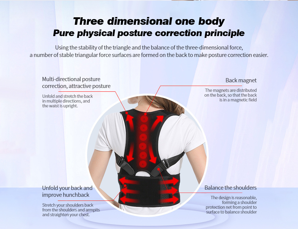 Posture Correction Belt Pure physical posture correction principle
