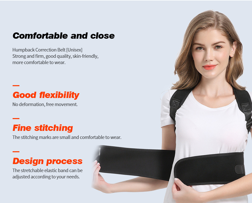 Posture Correction Belt Comfortable and close