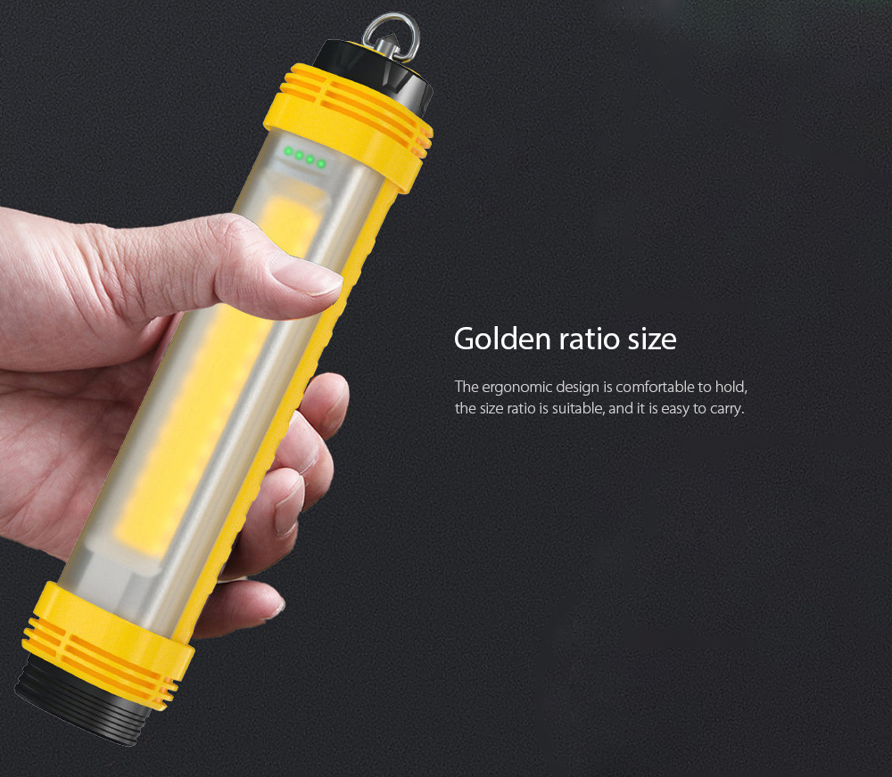 LED Camping Light Golden ratio size