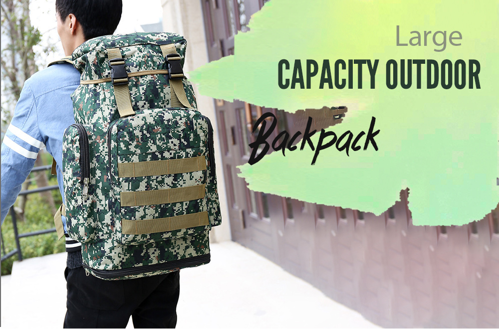 Large Capacity Outdoor Backpack Mountaineering Bag