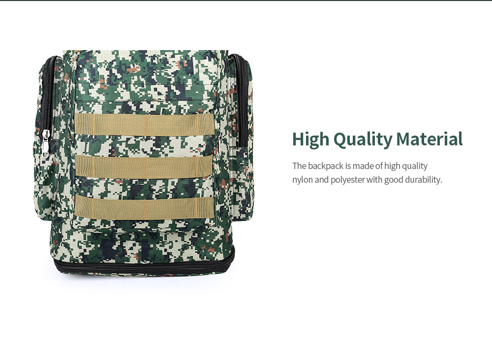 Large Capacity Outdoor Backpack Mountaineering Bag High Quality Fabric