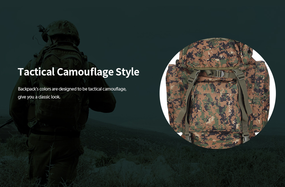 Mountaineering Bag Camouflage Style
